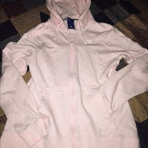 Women's Pink Nike Jacket Like New Size Small